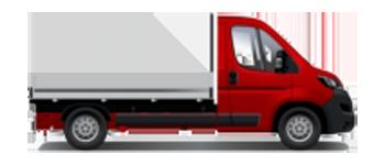 Camión caja abierta/Basculante/grua