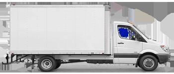 Camión caja cerrada/Trampilla