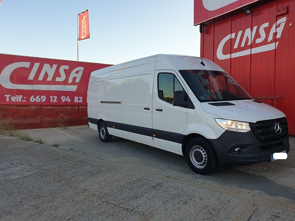 Mercedes Sprinter 314cdi Larga T.E.