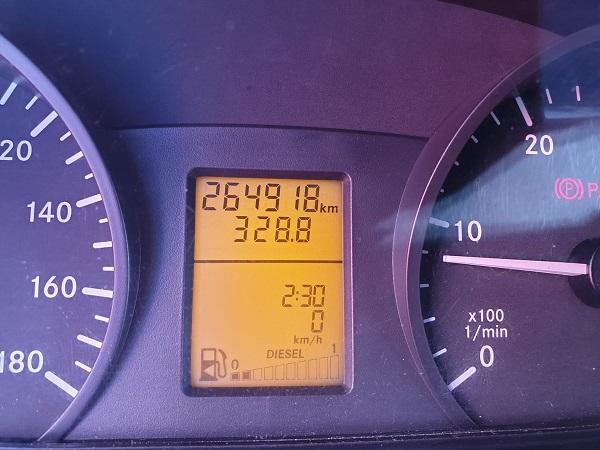 Mercedes Sprinter 516 caja cerrada