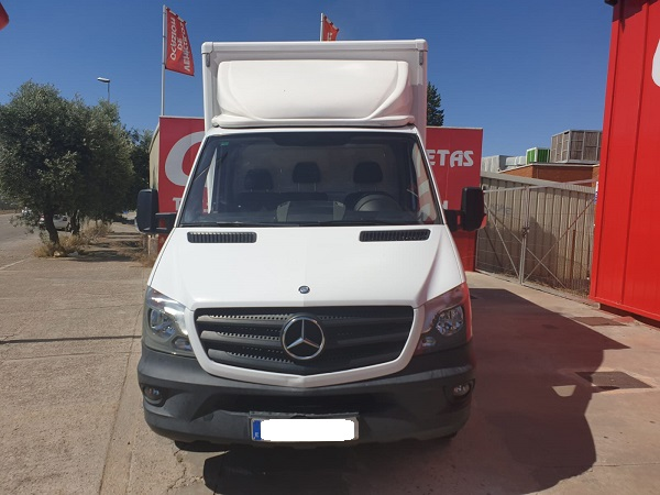 Mercedes Sprinter 516cdi caja cerrada