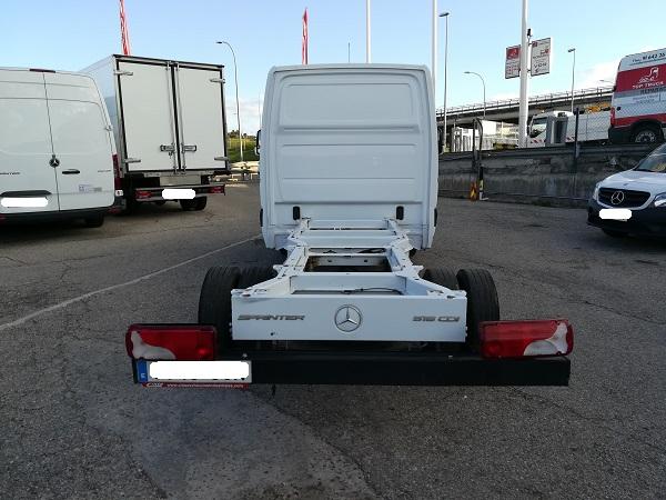 Mercedes Sprinter 516cdi chasis