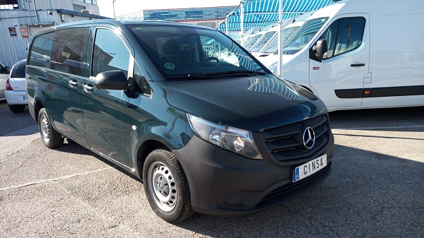 Mercedes Vito 114cdi larga 5 plazas