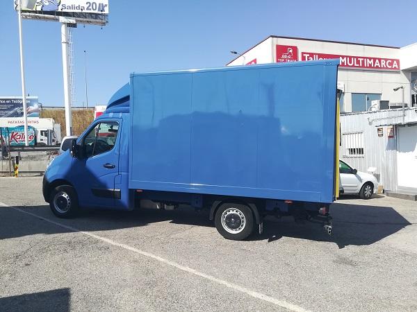 Opel Movano Caja Cerrada Trampilla