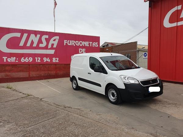 Peugeot Partner furgón corta
