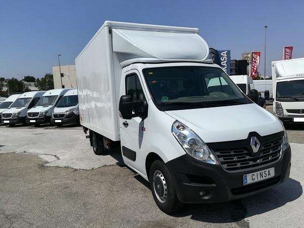 Renault Master Caja cerrada Trampilla
