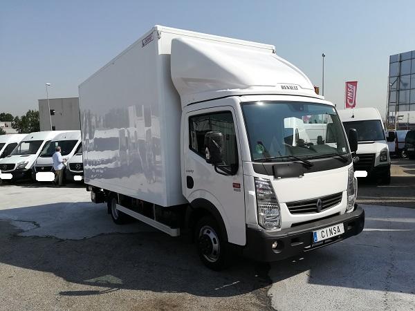 Renault Maxity Caja cerrada Trampilla 4500kg